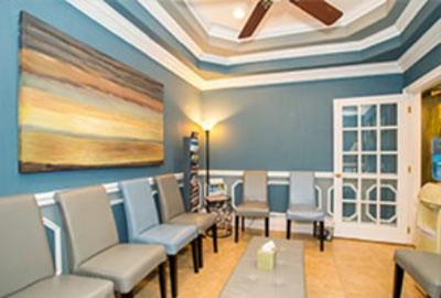 Interior, waiting room